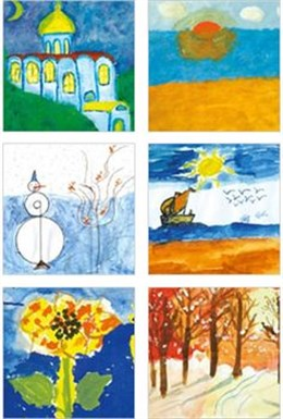 Art by children with cancer