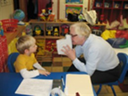 We offer vision screenings to day cares, schools and businesses.