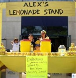 "Alex's ""Original"" Lemonade Stand 2008"