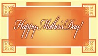 Mothers Day - Orange