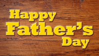 Fathers Day - Wood